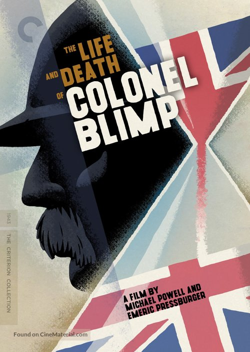 The Life and Death of Colonel Blimp - DVD movie cover