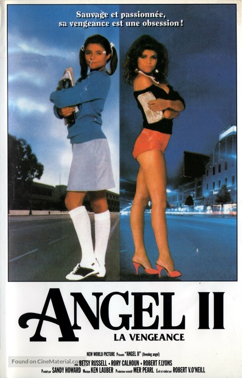 Avenging Angel - French VHS movie cover