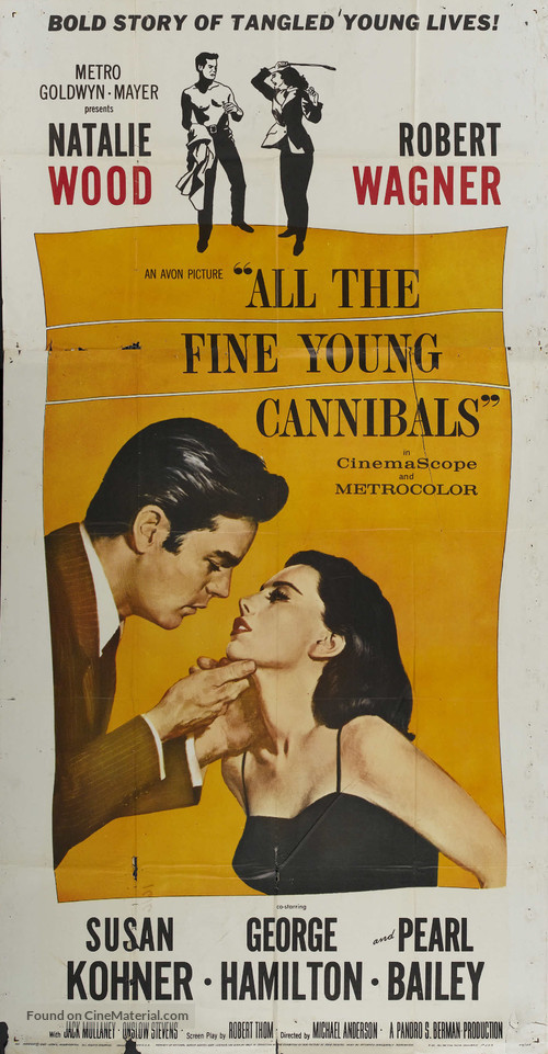 All the Fine Young Cannibals - Movie Poster