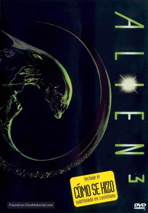Alien 3 - Spanish Movie Cover