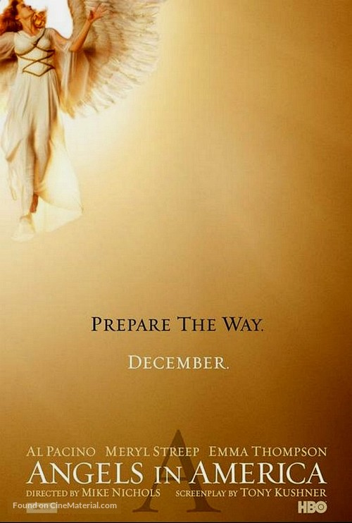 """""""Angels in America"""" - Movie Poster"""
