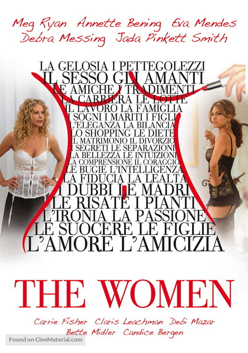 The Women - Italian Movie Poster
