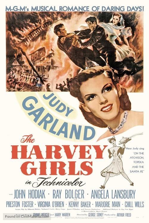 The Harvey Girls - Movie Poster