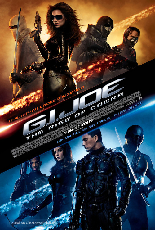 G.I. Joe: The Rise of Cobra - Movie Poster