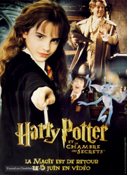 Harry potter and the chamber of secrets french movie poster - Harry potter et la chambre des secrets pc download ...