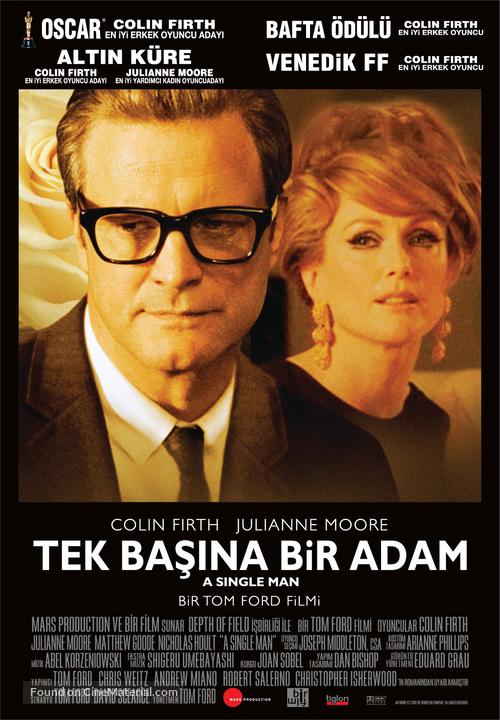 A Single Man - Turkish Movie Poster