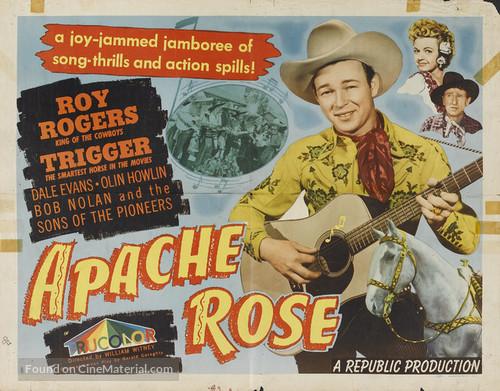 Apache Rose - Movie Poster