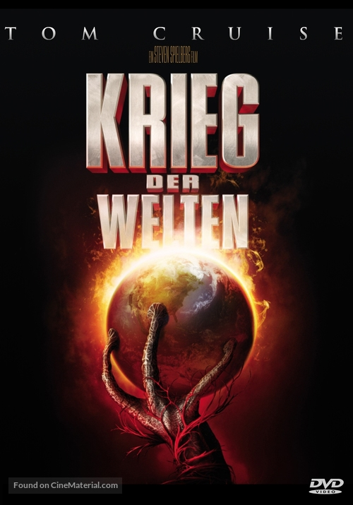 War of the Worlds - German DVD movie cover