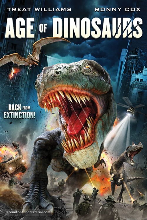 Age of Dinosaurs - DVD movie cover