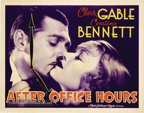 After Office Hours - Theatrical movie poster