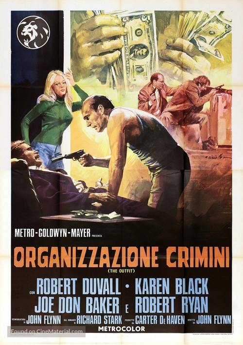 The Outfit - Italian Movie Poster