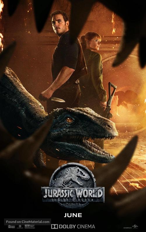 Jurassic World: Fallen Kingdom - Movie Poster