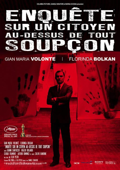 Indagine su un cittadino al di sopra di ogni sospetto - French Movie Poster