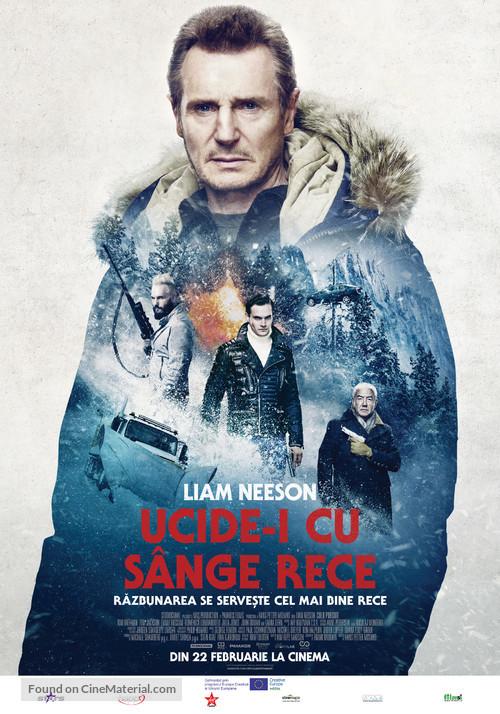Cold Pursuit - Romanian Movie Poster