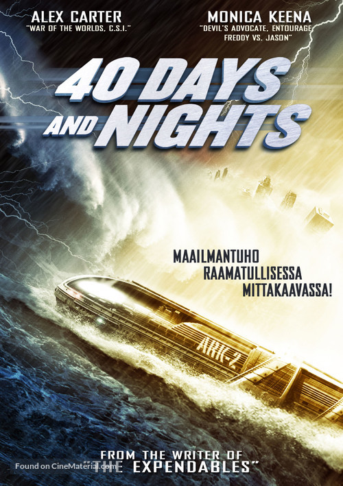 40 Days and Nights - Finnish DVD movie cover