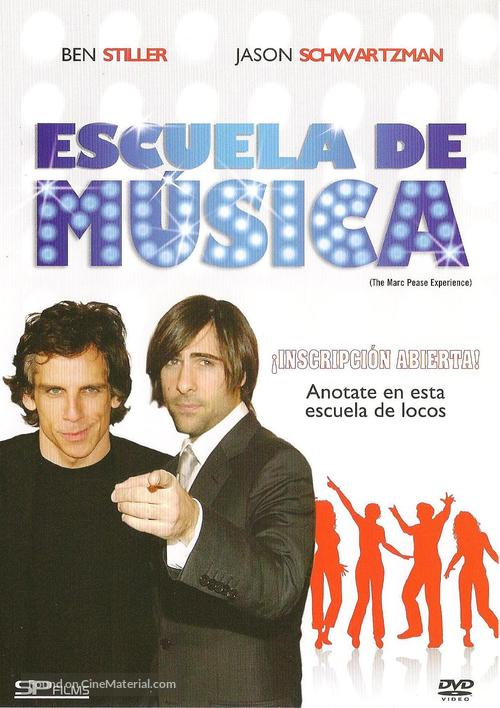 The Marc Pease Experience - Argentinian DVD movie cover
