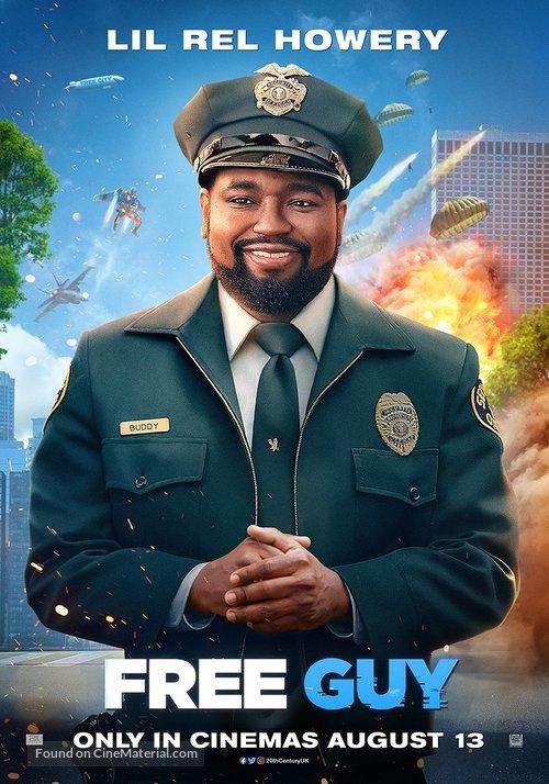 Free Guy - British Movie Poster
