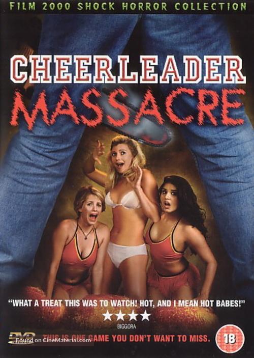 Cheerleader Massacre - British Movie Cover