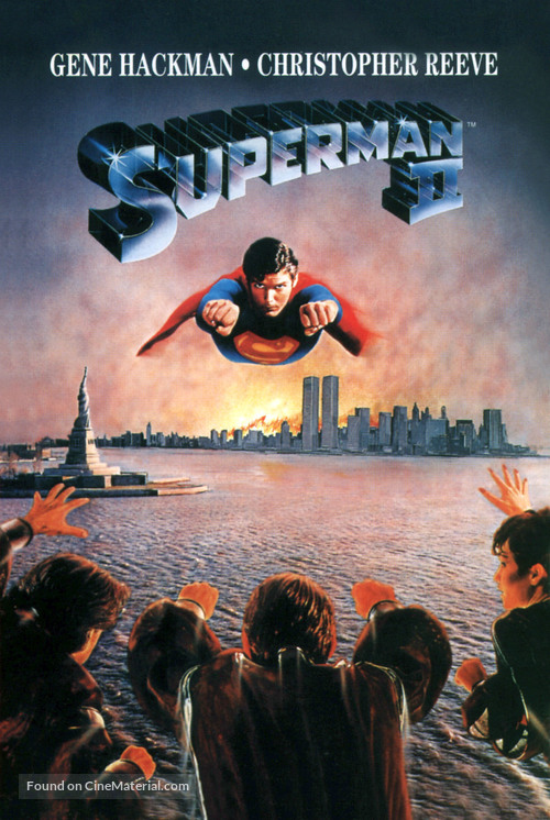 Superman II - Movie Cover