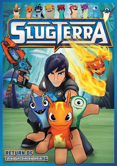 """Slugterra"" - DVD movie cover"