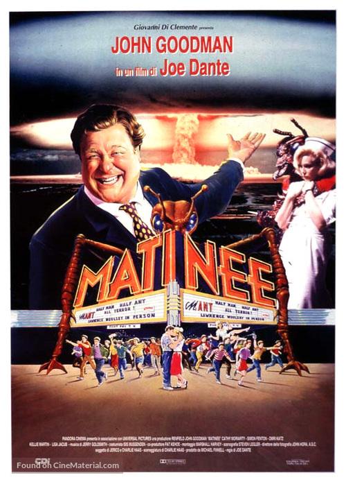 Matinee - Italian Movie Poster
