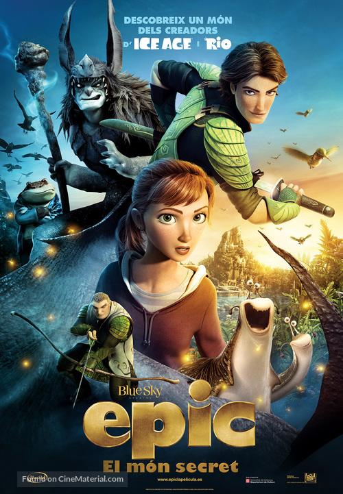 Epic - Andorran Movie Poster