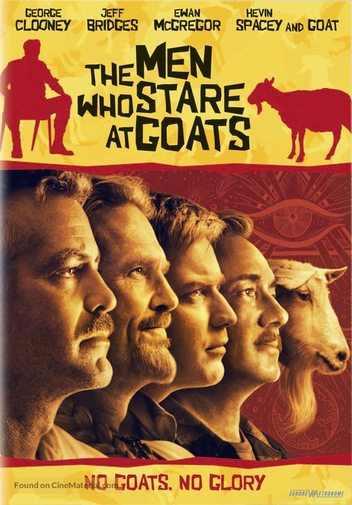 The Men Who Stare at Goats - Swedish DVD movie cover
