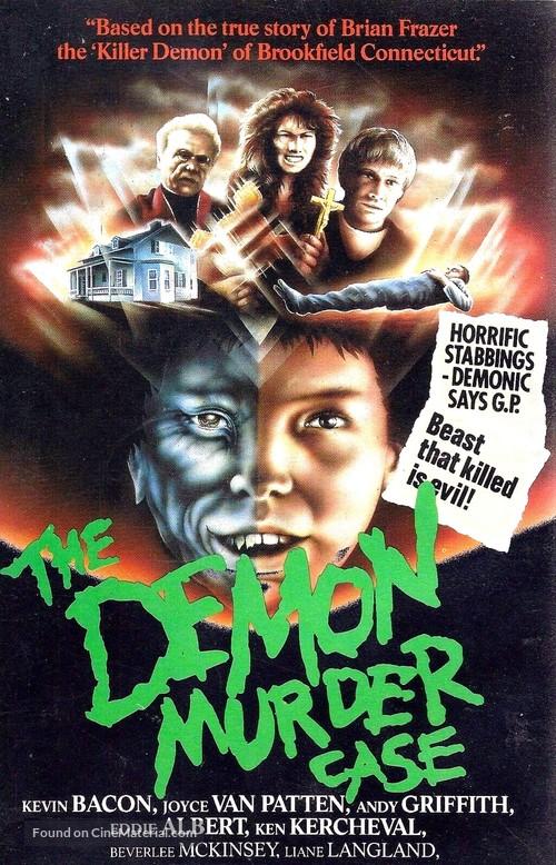 The Demon Murder Case (1983) vhs movie cover