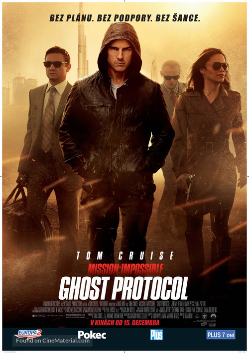 Mission: Impossible - Ghost Protocol - Czech Movie Poster