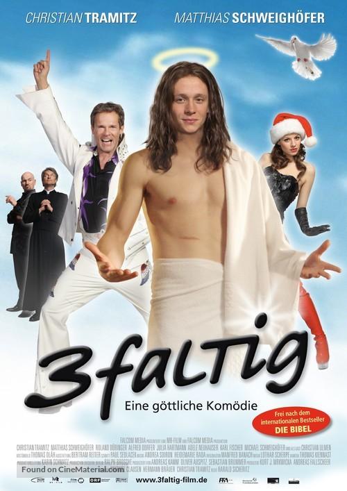 3-faltig - German Movie Poster