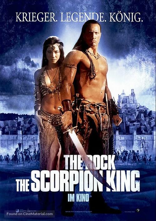 The Scorpion King - German Movie Poster