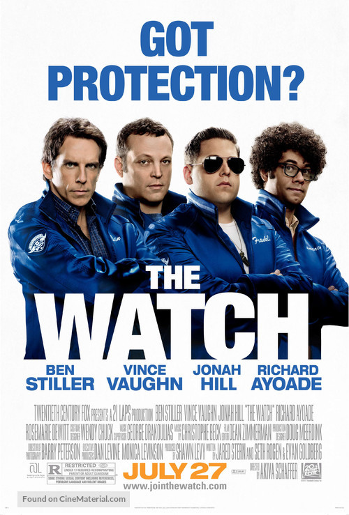 The Watch - Movie Poster