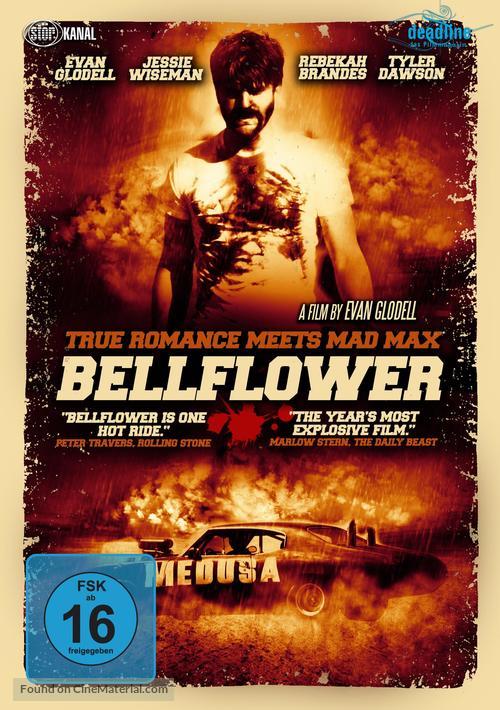 Bellflower - German DVD movie cover