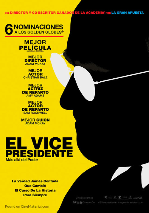 Vice - Colombian Movie Poster