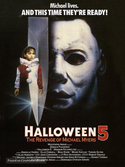 Halloween 5 - Movie Poster