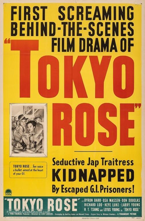 Tokyo Rose - Movie Poster