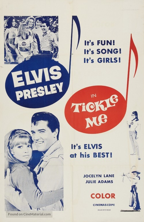 Tickle Me - Movie Poster
