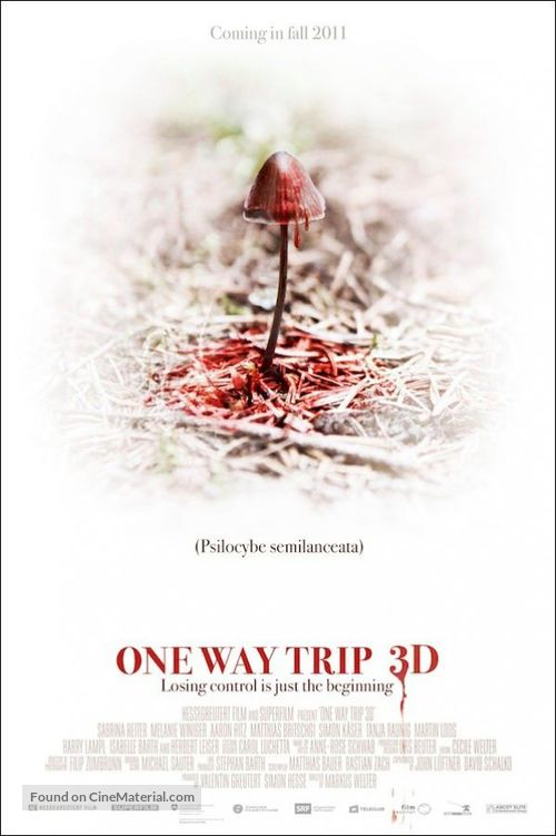 One Way Trip 3D - Movie Poster