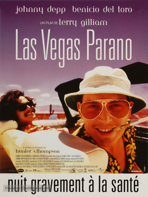 Fear And Loathing In Las Vegas - French Movie Poster