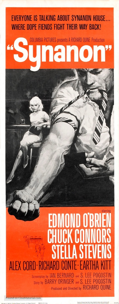 Synanon - Theatrical movie poster