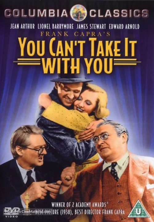You Can't Take It with You - British DVD movie cover