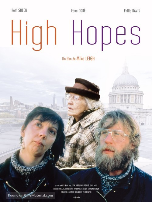 High Hopes - French Re-release movie poster