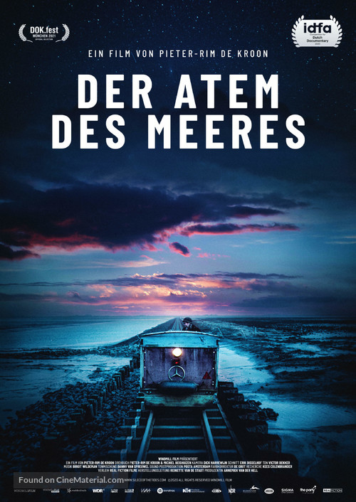 Silence Of The Tides - German Movie Poster