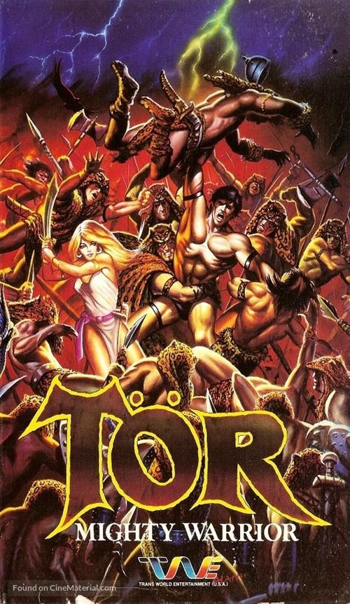Taur, il re della forza bruta - British Movie Cover