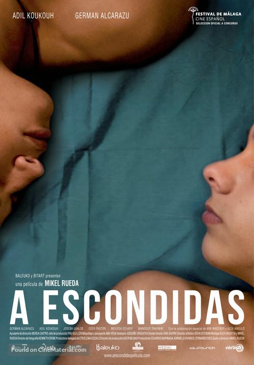 A escondidas - Spanish Movie Poster