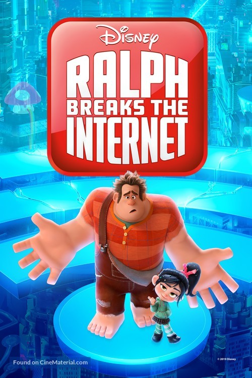 Ralph Breaks the Internet - Movie Cover