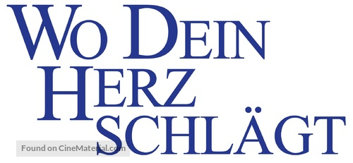 Where the Heart Is - German Logo