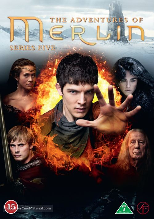 """Merlin"" - Danish DVD cover"
