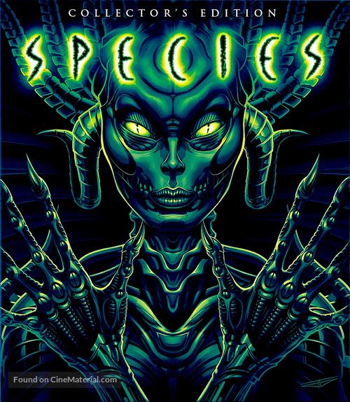 Species - Blu-Ray movie cover