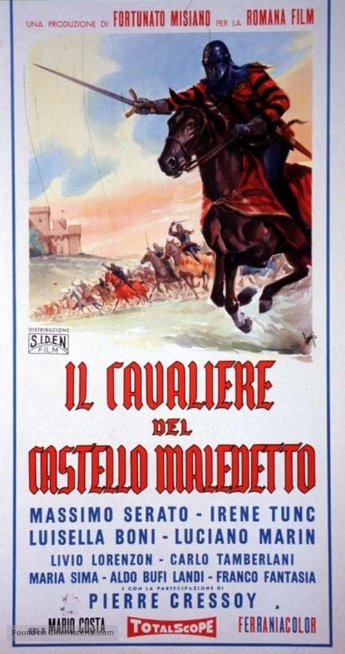 Il cavaliere del castello maledetto - Italian Movie Poster